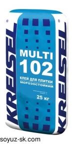 Multi 102. Морозостойкий клей для плитки