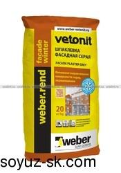 weber.rend facade winter