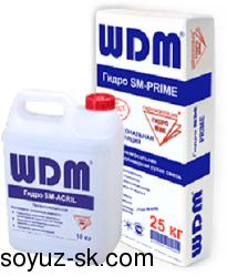 Гидро SM – PRIME+ ACRIL. Универсальный цементно-полимерный двухкомпонентный состав.
