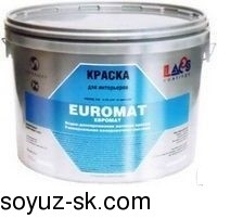EUROMAT  (ЕВРОМАТ)Краска для внутренних работ.