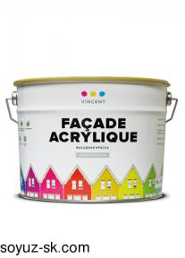 Façade Acrylique(Фасад Акрилик).Фасадная водно-дисперсионная краска