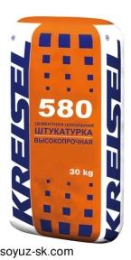Sockelputz 580. Высокопрочная цементная цокольная штукатурка