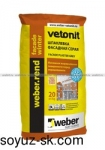 weber.rend facade winter